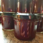 Cranberry- Orangen- Ingwer- Gelee