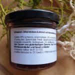 Schwarzer Johannisbeer-Aufstrich mit Kokosblütenzucker