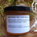 Sanddorn- Orangen- Ingwer- Aufstrich