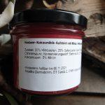 Himbeer- Kokosmilch- Aufstrich mit Minze