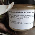 Weißer Johannisbeer- Aufstrich mit Kokosmilch